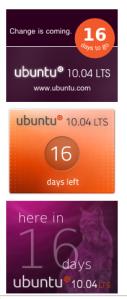 Ubuntu Countdown Banner