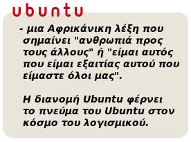 Τι σημαίνει Ubuntu