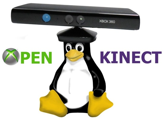 Open Kinect Linux drivers