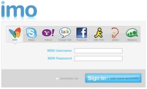 imo.im webapp messenger