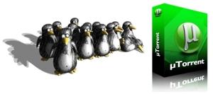 uTorrent Linux banner
