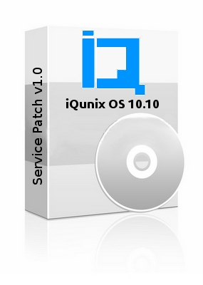 iQunix OS 10.10 Service patch v1