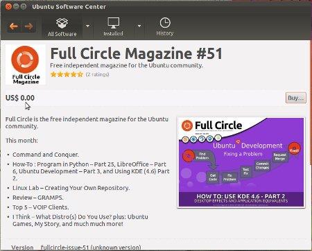fullcircle-magazine-ubuntu-software-center