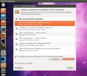 Ubuntu Update manager fix