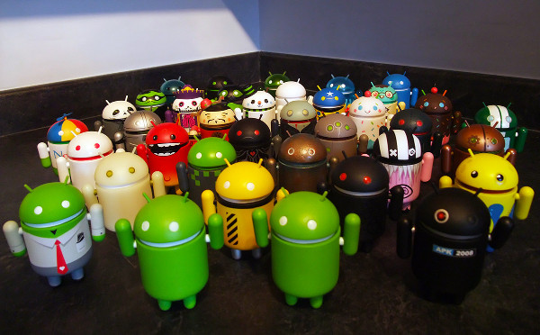 There is No Fragmentation just Android clones