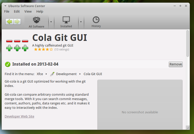 Github: Step by step management of Github with Git Cola