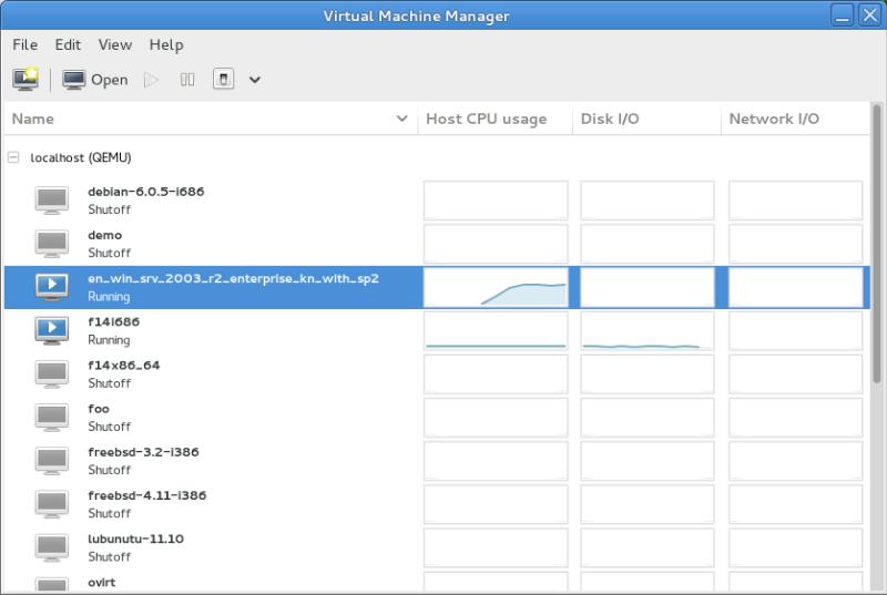 virt-manager-vm-list