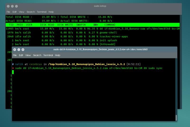pos-ftiaxnoume-home-server-meros1-dd-iotop