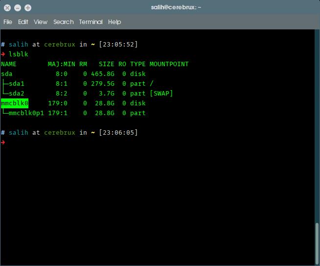 pos-ftiaxnoume-home-server-meros1-lsblk