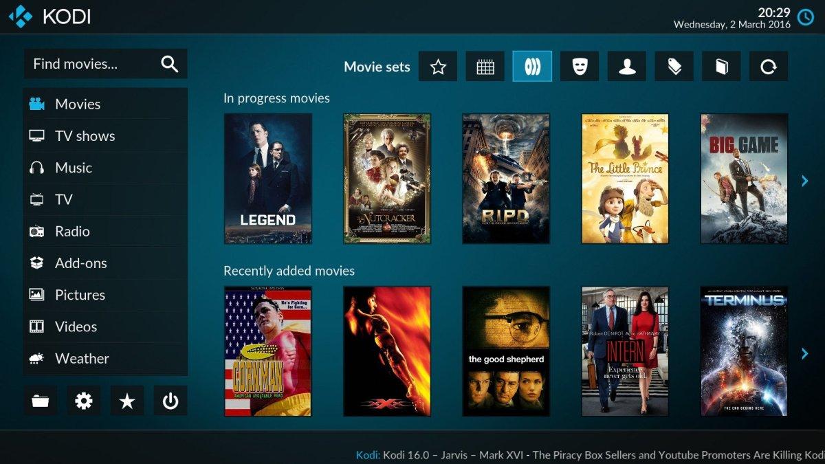 Kodi: Ελληνικά κανάλια και ραδιόφωνο, Covenant για ταινίες/σειρές με ελληνικούς υπότιτλους