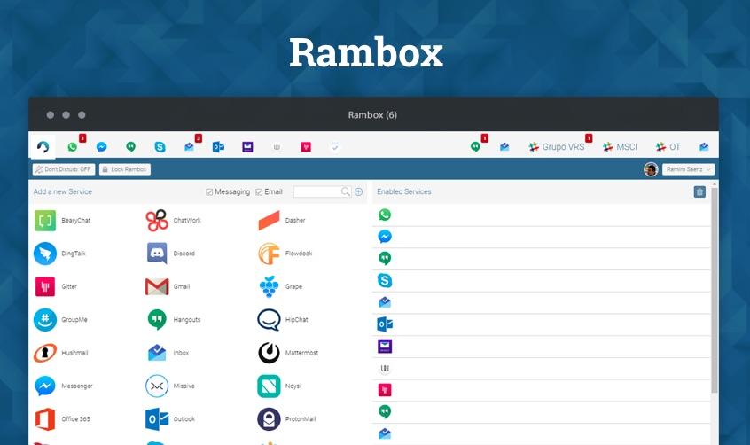 rambox-linux-chat-app