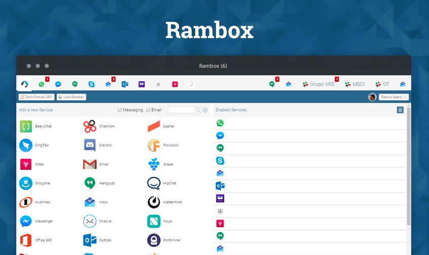 rambox-linux-chat-app