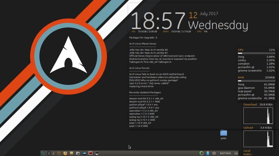 lxqt-desktop-elafri-screenshot