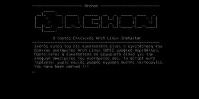 archon-easy-arch-linux-installer