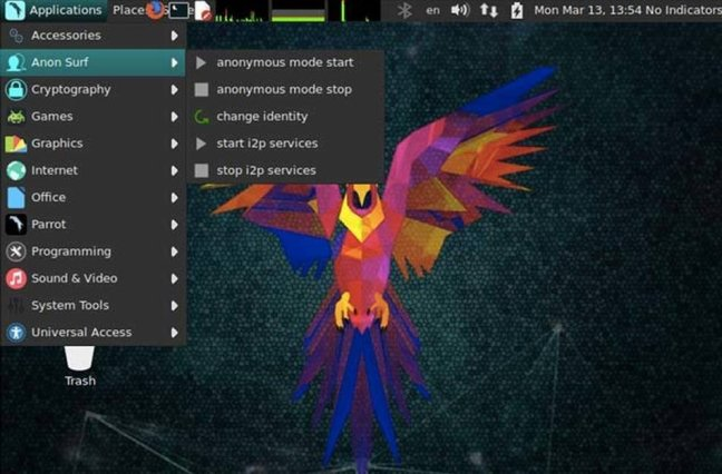 parrotsec-pentesting-security-analyst-desktop