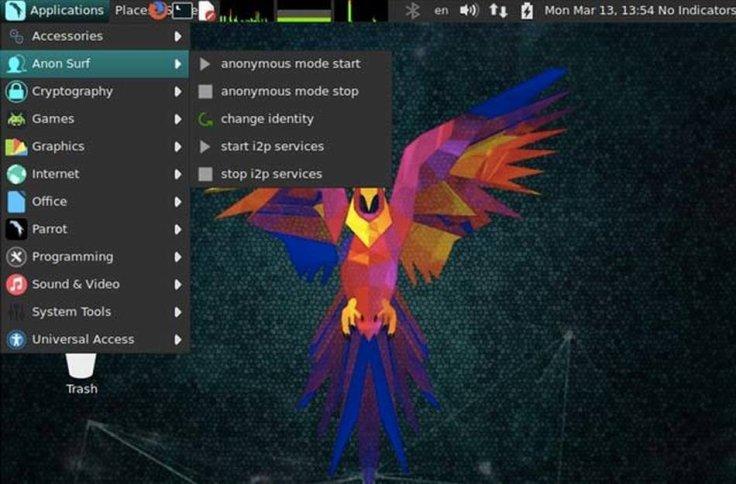 parrotsec-pentesting-security-analyst-desktop