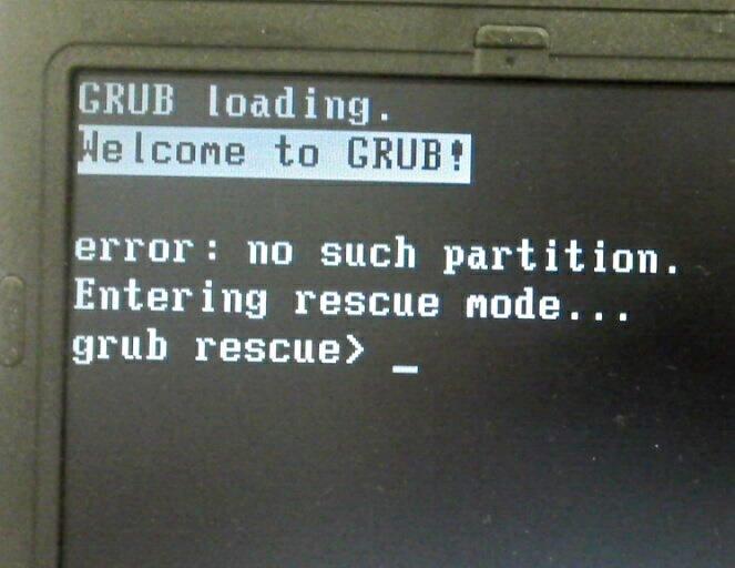 chroot-grub-rescue