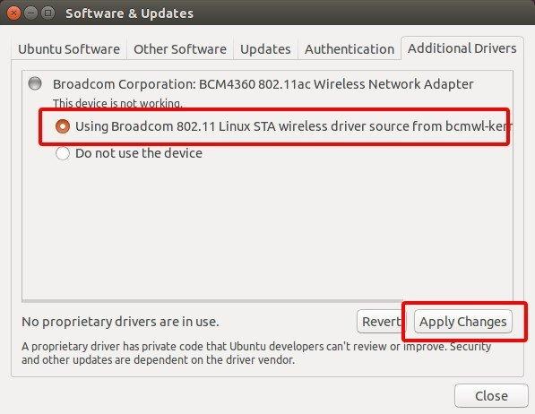 Εγκατάσταση Drivers στο Ubuntu