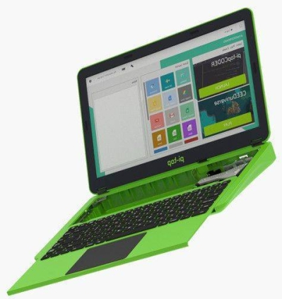 Pi-Top Raspberry Pi Laptop εσωτερικά απο το πλάι