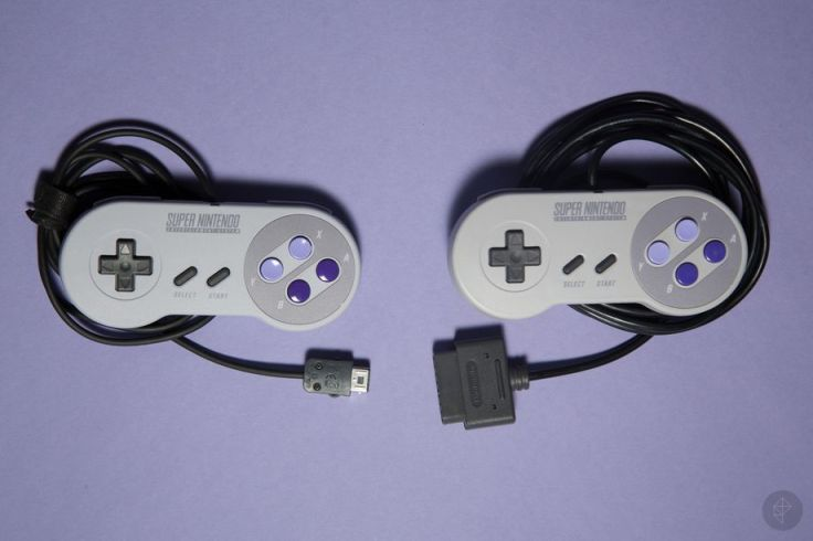 snes classic mini controller VS Snes controller