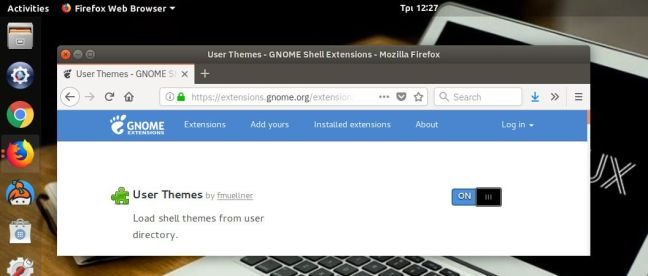 egkatastash-gnome-extensions-firefox-integrations