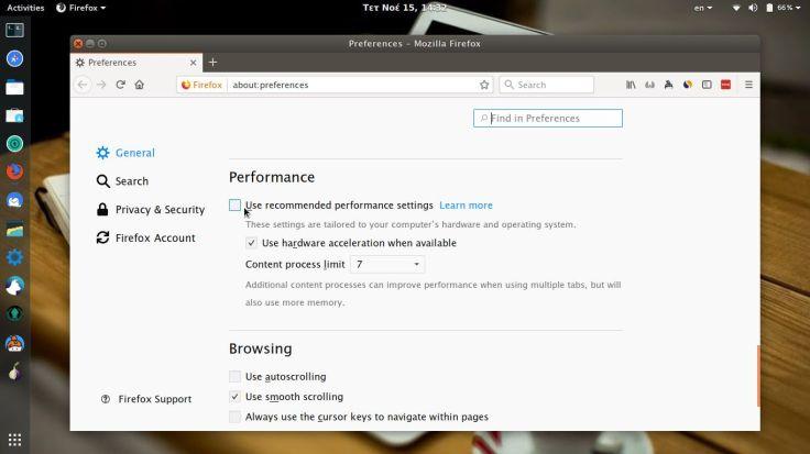 Firefox 57 Quantum - Τι νέο φέρνει - επιδόσεις
