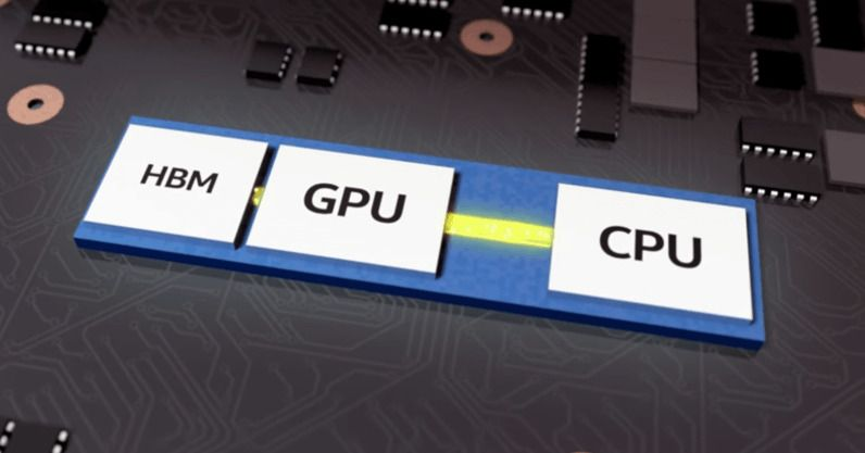 Intel CPU με AMD GPU και HBM2