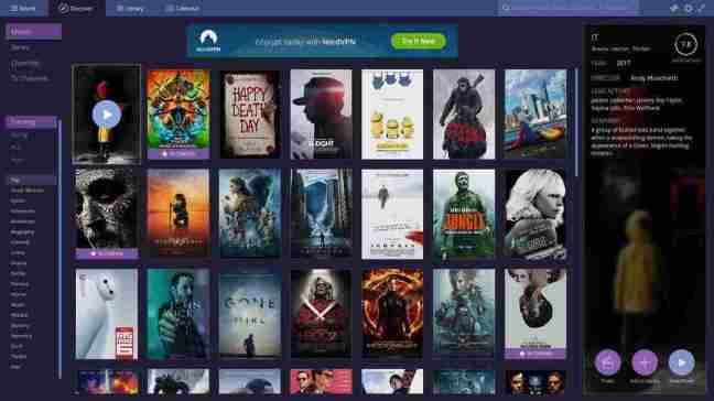 Stremio Δωρεάν ταινίες και σειρές online