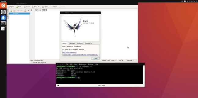 yunit-kde-ubuntu-unity8