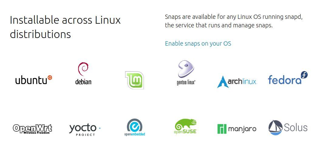 Πώς ρυθμίζουμε την Linux διανομή μας για τα Snap πακέτα