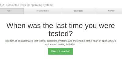 OpenQA: Αυτόματος έλεγχος εγκατάστασης Linux| Video