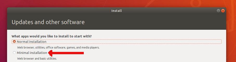 minimal-ubuntu