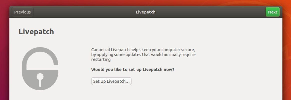 Ενεργοποίηση του Ubuntu Livepatch: ενημέρωση πυρήνα Linux χωρίς επανεκκίνηση