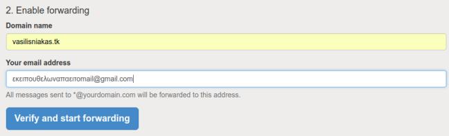 email alias gmail domain name