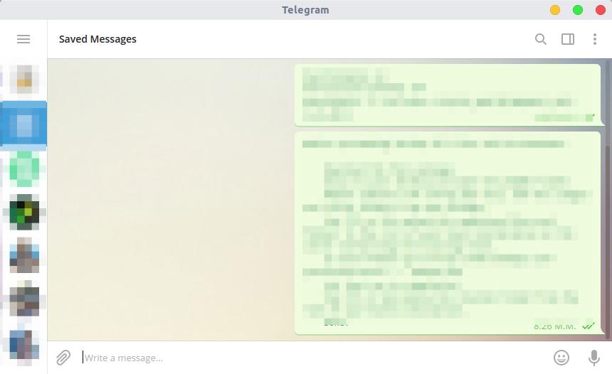 Πρόχειρο Telegram 2