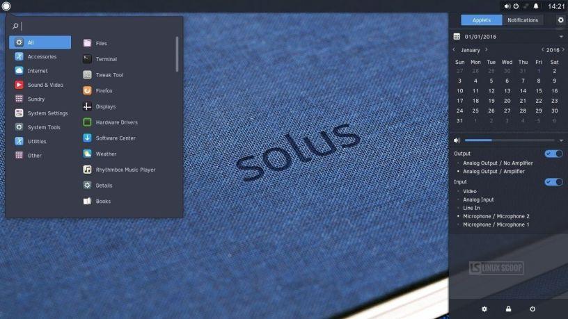 SOLUS: Είναι για όλους τελικά αυτή η rolling release διανομή