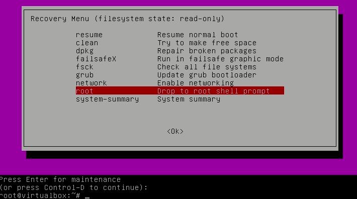 Επαναφορά – Ανάκτηση – Αλλαγή κωδικού χρήστη στο Linux – Cerebrux