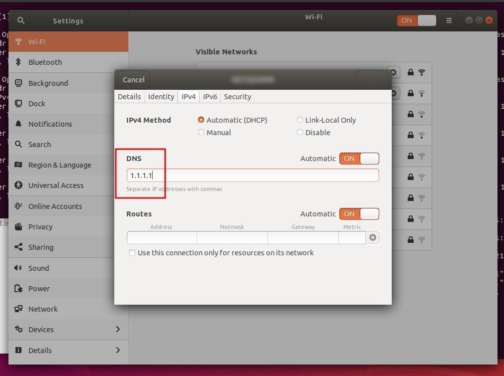 Μέτρα ασφάλειας λειτουργικού συστήματος Ubuntu – Μέρος 2 (Network Attack Defense) - Αλλαγή DNS