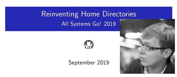 Systemd-homed: Πρόταση για νέο σύστημα Home φακέλου του χρήστη