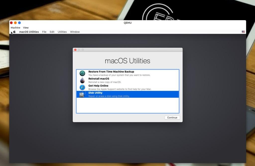 Εγκατάσταση macOS μέσα σε Linux μέσω KVM - χρήση του Dsik Utility