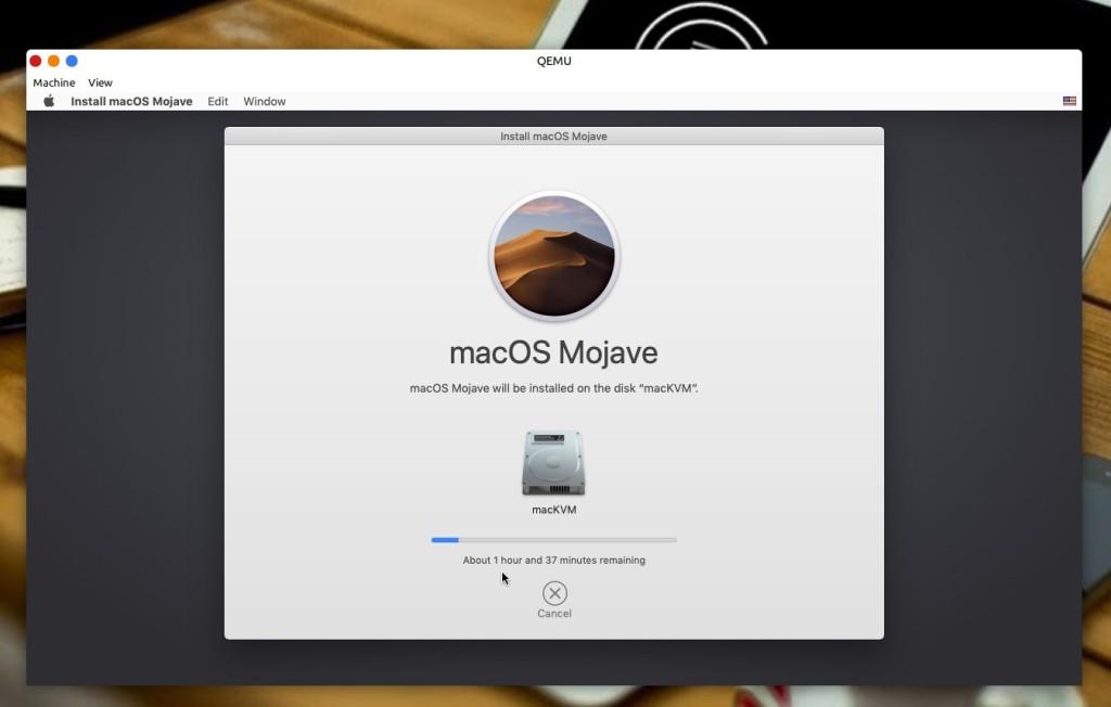 Εγκατάσταση macOS μέσα σε Linux μέσω KVM - ολοκλήρωση