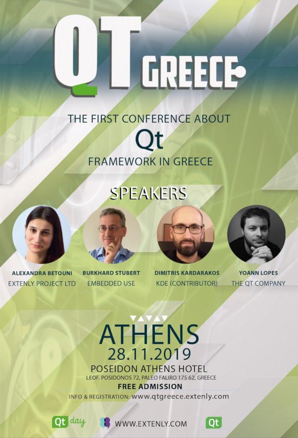 Qt Greece: Στην Αθήνα το πρώτο συνέδριο για το Qt Framework