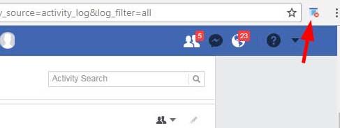 κάντε κλικ στο εικονίδιο του Social Book Post Manager