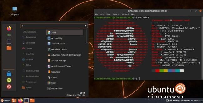 Η πρώτη έκδοση του Ubuntu Cinnamon είναι διαθέσιμη