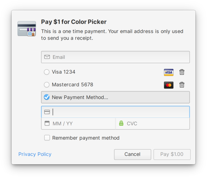 Flatpak & Πληρωμές ανοιχτού και ελεύθερου λογισμικού
