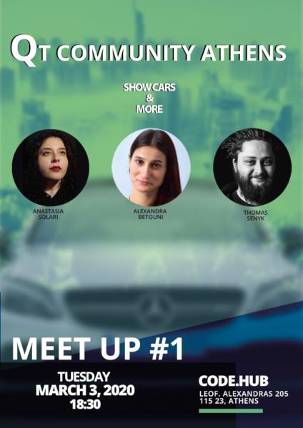 Πρώτο Qt community meetup συνάντηση κοινότητας