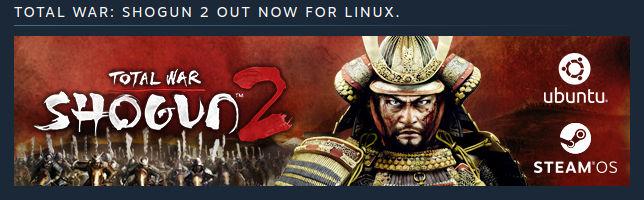 Το Total War Shogun 2 και για Linux