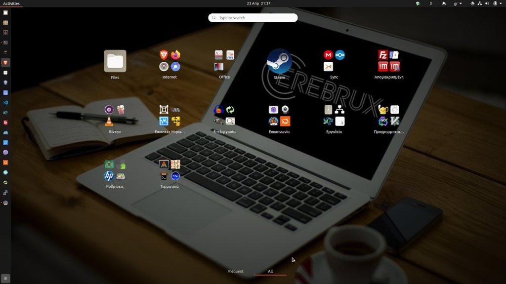 Η νέα έκδοση του GNOME παρέχει την δυνατότητα ομαδοποίησης εφαρμογών
