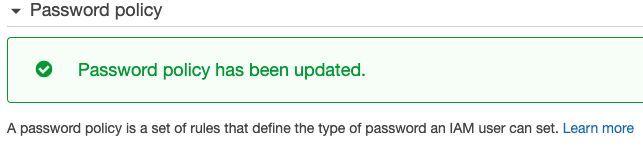 Και έτσι φτιάξαμε την Password Policy και ολοκληρώσαμε το ένα από τα δύο βήματα.