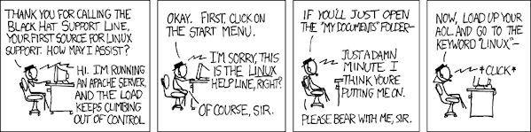 Τεχνική υποστήριξη σε Linux